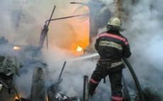 Мужчина получил серьезные ожоги на пожаре