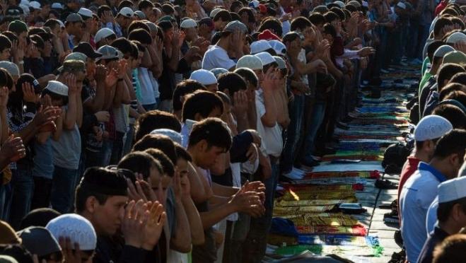 Мусульмане Марий Эл отмечают Курбан-байрам