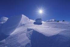Флаг Йошкар-Олы развернут на Северном полюсе