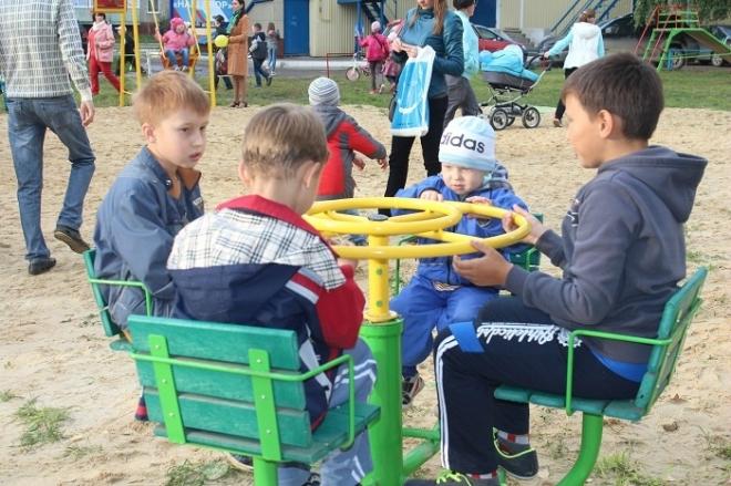 Детские площадки открываются не только в Йошкар-Оле