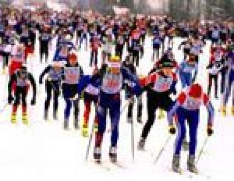 Татьяна Мокосеева и Михаил Средин открыли списки «Лыжни России-2012» в Марий Эл