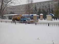 В Йошкар-Оле на снегоуборочных работах задействовано 34 единицы спецтехники