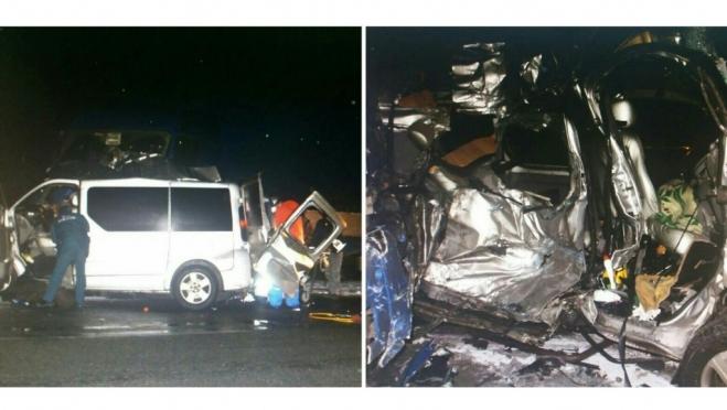 В Чувашии в ДТП с микроавтобусом и грузовиком погибли пять человек, двое пострадали