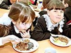 Младшие школьники радуют своим аппетитом