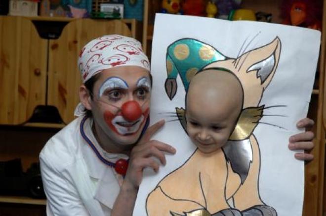 В Йошкар-Оле на помощь к больным детям спешат клоуны