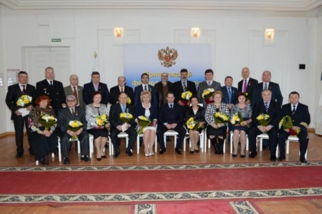 Михаил Бабич вручил президентские награды жителям Марий Эл