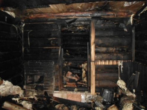 За выходные в Марий Эл огнем повреждено шесть частных бань