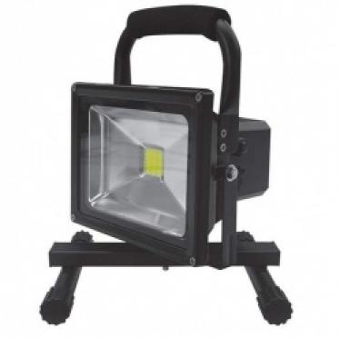 В продажу поступил новый товар! Светодиодный прожектор 10 ватт на аккумуляторной батарее (переносной).