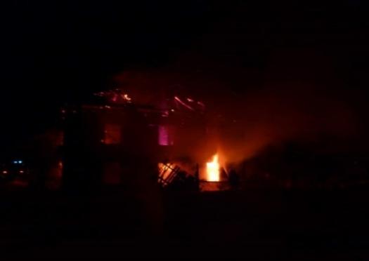 В Марий Эл на пожаре погиб пожилой мужчина