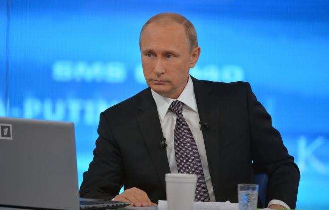 Владимир Путин проведет ежегодную пресс-конференцию 17 декабря