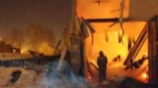 Субботним вечером огонь полыхал в частном секторе Йошкар-Олы