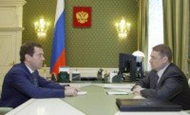Председатель Правительства России встретился с Главой Республики Марий Эл