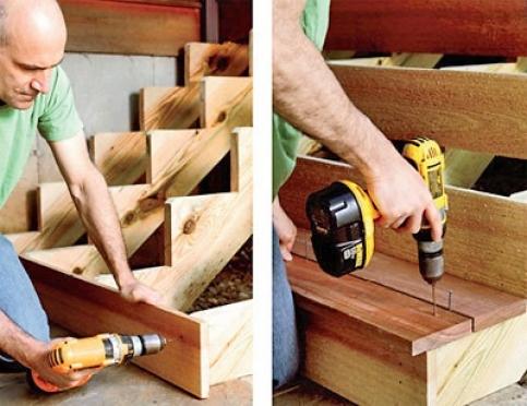 Деревянная лестница – лучшее украшение коттеджа