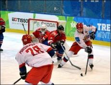 Сборная России вышла в полуфинал хоккейного турнира Универсиады в Италии