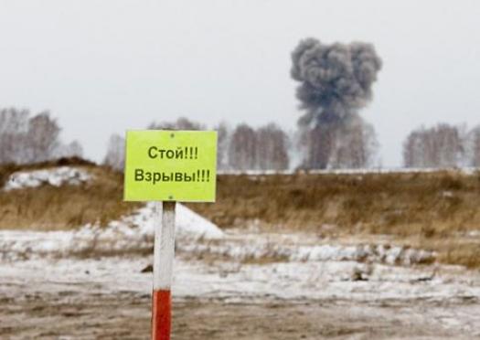 В пригороде Йошкар-Олы второй день гремят взрывы