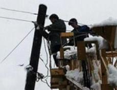 Стихия оставила без электричества 78 населённых пунктов Марий Эл