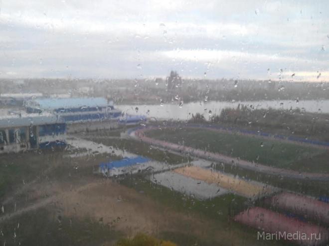Холодный циклон принесёт в Марий Эл снег с дождём