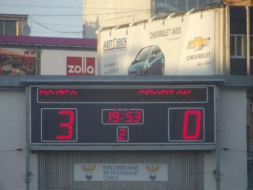 В трех матчах «Спартак» (Йошкар-Ола) пропустил девять мячей и ни одного не забил