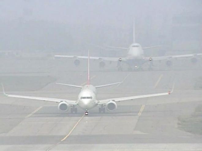 Туман не помешал самолету из Йошкар-Олы приземлиться в Москве
