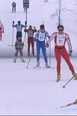 Лыжня России постер