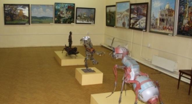 Выставка «Большая Волга» открылась в Йошкар-Оле