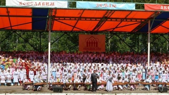Под Козьмодемьянском сегодня пройдёт большой певческий праздник