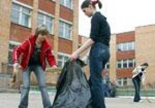 Школьники Йошкар-Олы заступили на трудовую вахту
