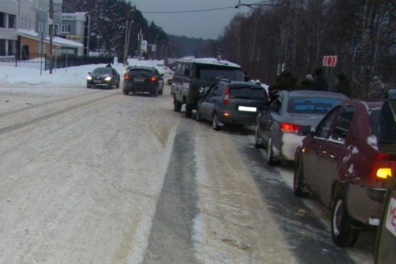 Водитель иномарки спровоцировал ДТП и скрылся с места аварии