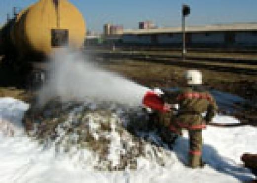 Пожарные Марий Эл успешно прошли учения