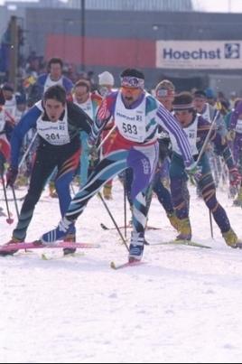 Чемпионат и первенство РМЭ по спортивному туризму на лыжных дистанциях постер