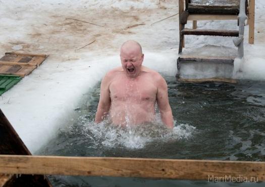 В Марий Эл в Крещение будет умеренно морозная погода
