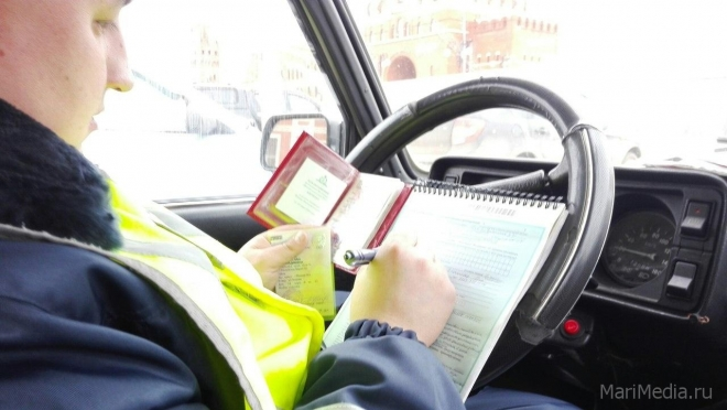В Йошкар-Оле задержали водителя-рекордсмена по административным нарушениям