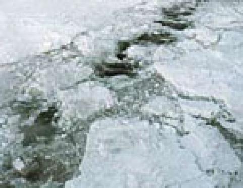 Ледовое покрытие водных объектов Марий Эл неоднородно