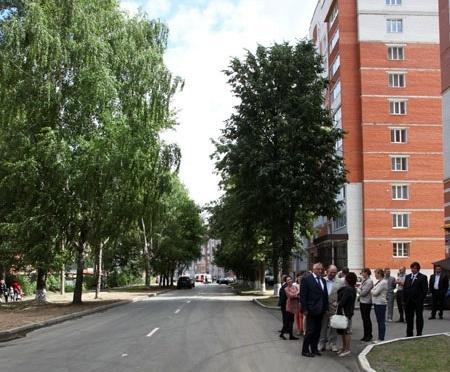 В Йошкар-Оле отремонтировали улицу Димитрова
