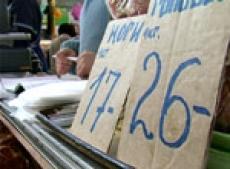 Августовские цены на рынке Марий Эл упали на 0,3%