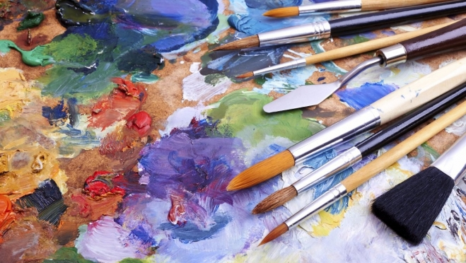 Юные художники сегодня будут рисовать на заданную тему