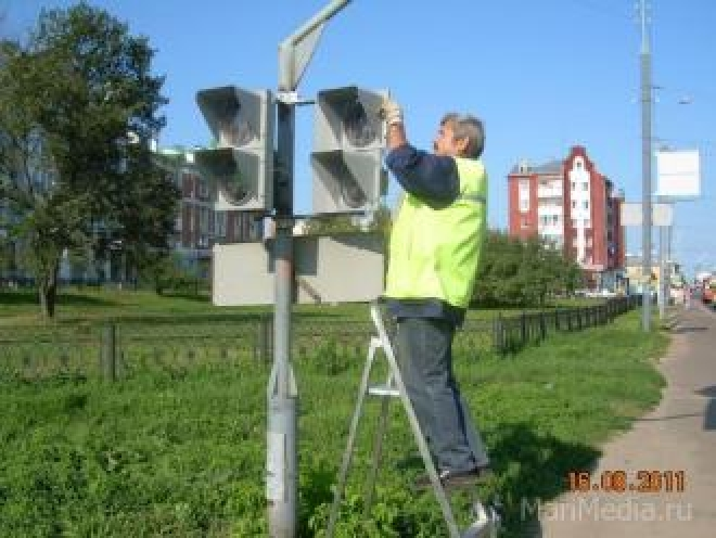 В Йошкар-Оле появляются новые светофоры