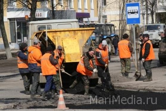 В Йошкар-Оле ремонт дорог будет вестись до конца октября
