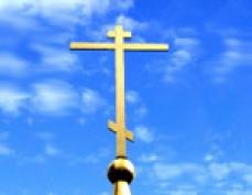 В столице Марий Эл воскресенские купола увенчает крест