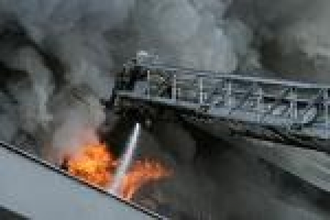 Жители 9 микрорайона Йошкар-Олы сегодня проснулись от сирен пожарных автомобилей