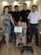 Вадим Басов получил неожиданный подарок от бойцов региональной Федерации смешанного боевого единоборства
