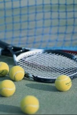 Чемпионат и первенство по теннису постер