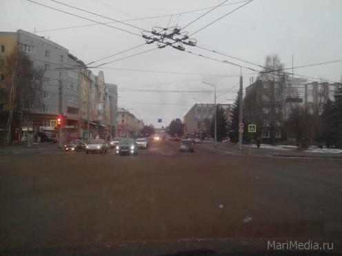В эти минуты в Йошкар-Оле проходит торжественная церемония открытия участка Ленинского проспекта