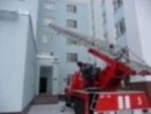 Пожарные Йошкар-Олы «похозяйничали» в Доме студента и аспиранта