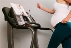 Велокомпьютер расширяет возможности беременных женщин во время занятий на тренажерах