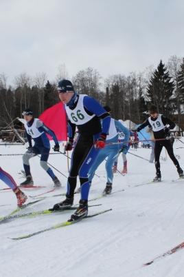 Первенство Республики Марий Эл по лыжным гонкам среди ветеранов постер