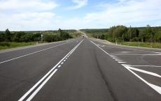 На Казанском тракте дорожники отремонтировали участок федеральной трассы