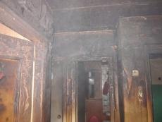 В Звенигово пьяная женщина уснула с сигаретой — начался пожар