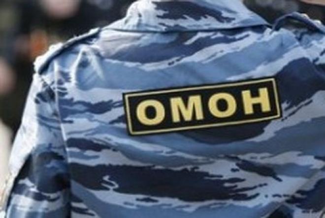 ОМОН принял участие в задержании мужчины, подозревавшегося в кражах из садовых домиков