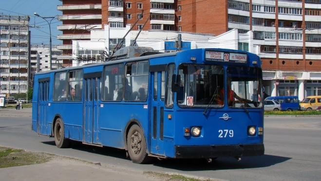 В Йошкар-Оле 9 мая троллейбусы будут ходить до 23:30